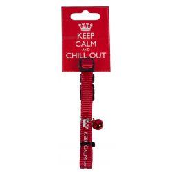 Katthalsband Keep Calm