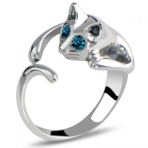 Massiv Ring Kattdesign